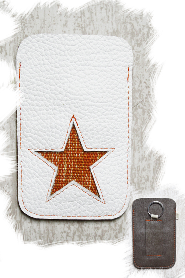 Mobielhoesje 1.0 Star Orange