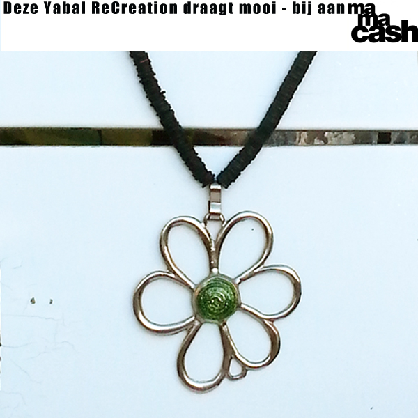 Ketting Flower4MC groen medium