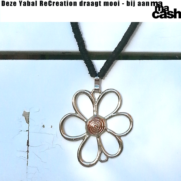 Ketting Flower4MC - oranje small